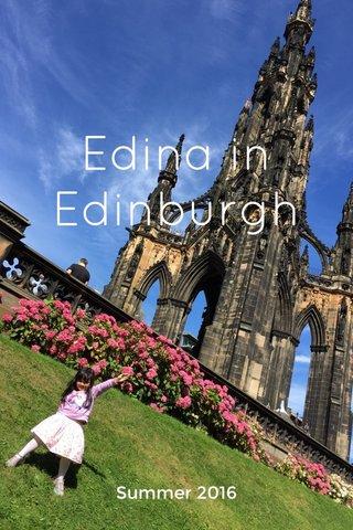 Edina in Edinburgh Summer 2016