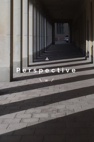 Perspective \w/
