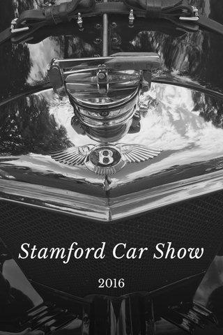 Stamford Car Show 2016