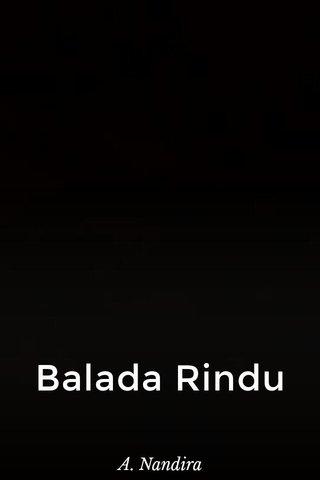 Balada Rindu A. Nandira