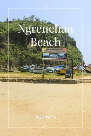 Ngrenehan Beach Yogyakarta