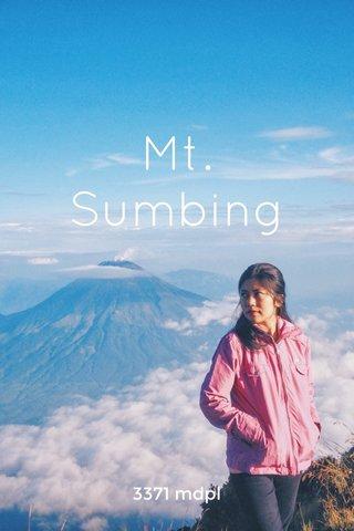 Mt. Sumbing 3371 mdpl