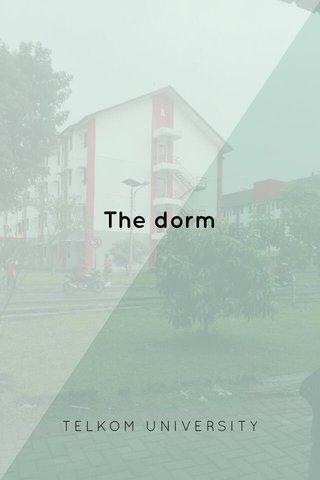 The dorm TELKOM UNIVERSITY