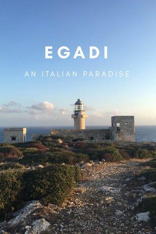 EGADI AN ITALIAN PARADISE