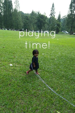 playing time!