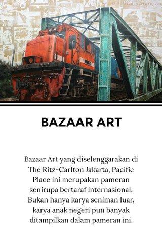 BAZAAR ART