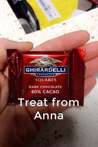Treat from Anna