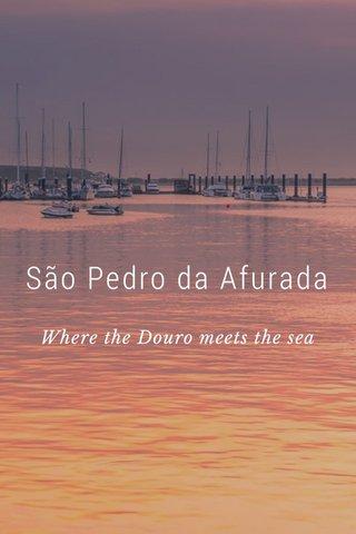 São Pedro da Afurada Where the Douro meets the sea
