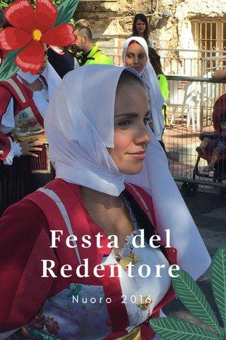 Festa del Redentore Nuoro 2016