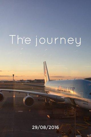The journey 29/08/2016