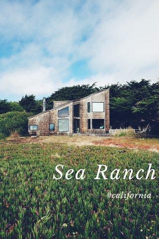 Sea Ranch #california