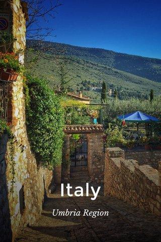 Italy Umbria Region