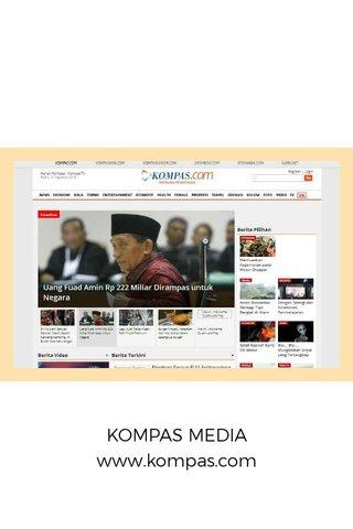KOMPAS MEDIA www.kompas.com
