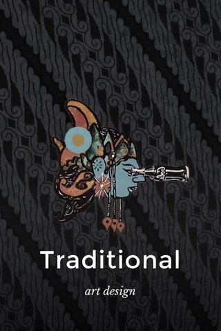 Traditional art design