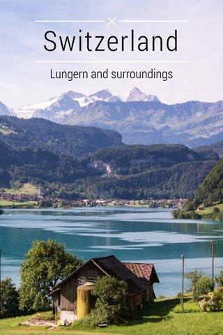 Switzerland Lungern and surroundings
