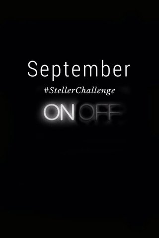 September #StellerChallenge