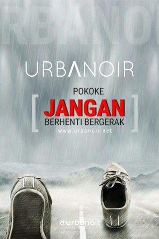 URBΛNOIR @urbanoir