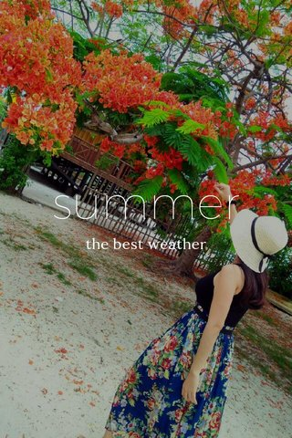 summer the best weather