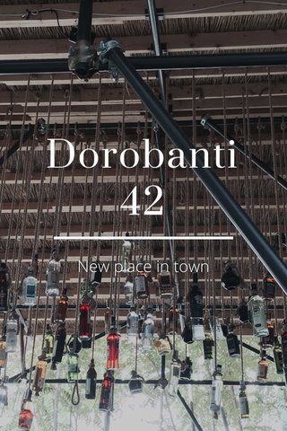 Dorobanti 42 New place in town