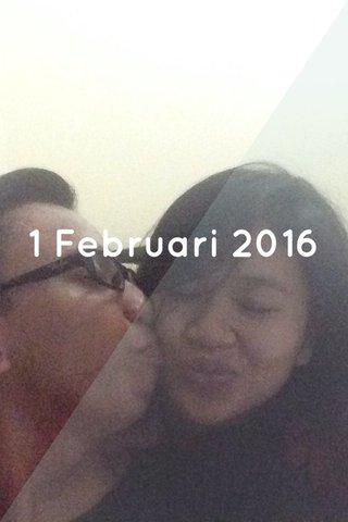 1 Februari 2016