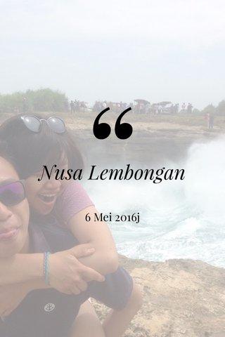 Nusa Lembongan 6 Mei 2016j