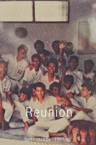 Reunion 3A1 - SMA34 - 1987/90