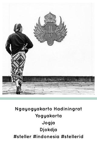 Ngayogyakarto Hadiningrat Yogyakarta Jogja Djokdja #steller #indonesia #stellerid