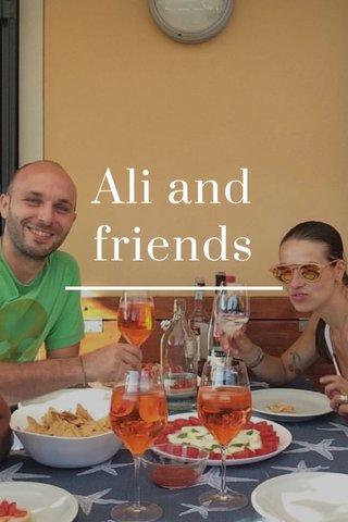 Ali and friends