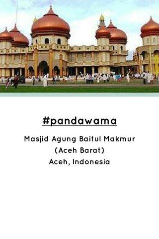 #pandawama