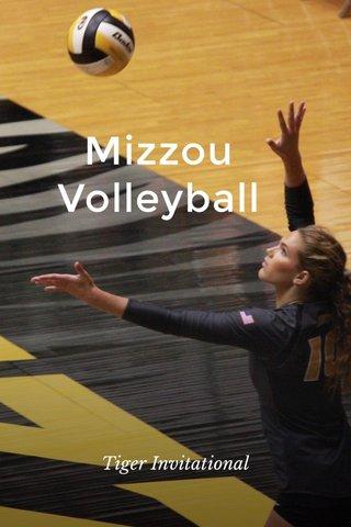 Mizzou Volleyball Tiger Invitational