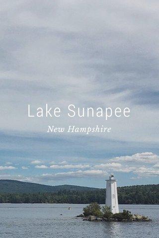 Lake Sunapee New Hampshire