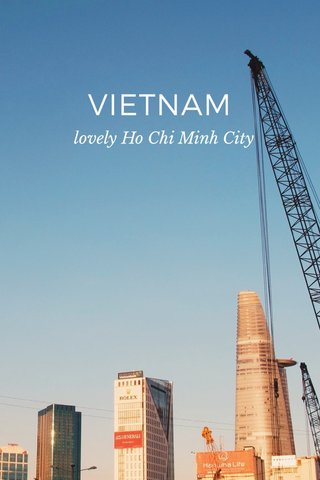 VIETNAM lovely Ho Chi Minh City