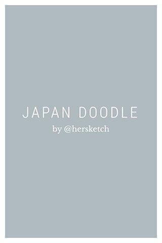 JAPAN DOODLE
