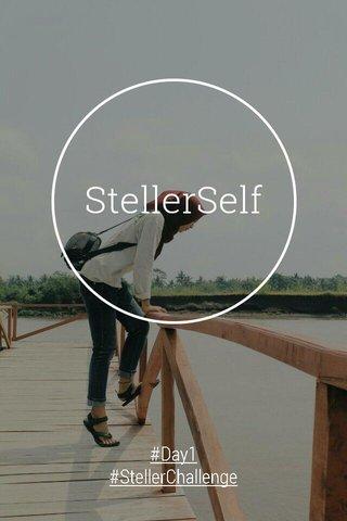 StellerSelf #Day1 #StellerChallenge