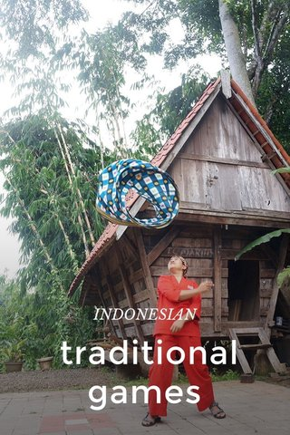 traditional games INDONESIAN