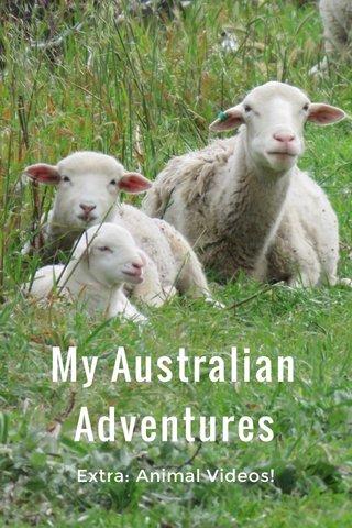 My Australian Adventures Extra: Animal Videos!