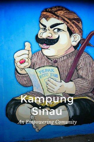 Kampung Sinau An Empowering Comunity
