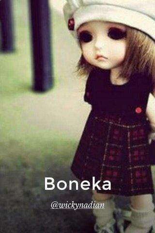 Boneka @wickynadian