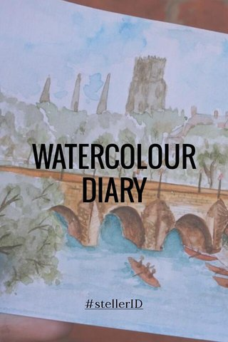 WATERCOLOUR DIARY #stellerID