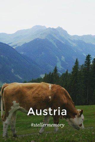 Austria #stellermemory