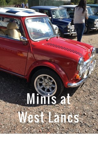 Minis at West Lancs