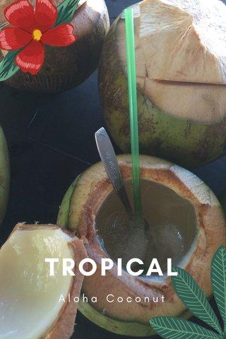 TROPICAL Aloha Coconut