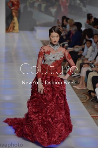Couture NewYork fashion week