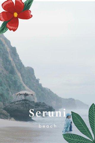 Seruni beach
