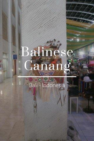 Balinese Canang Bali - Indonesia