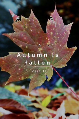Autumn is fallen Part II