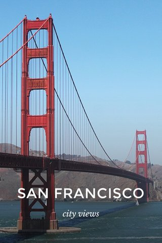SAN FRANCISCO city views