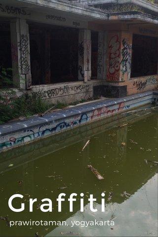 Graffiti prawirotaman, yogyakarta