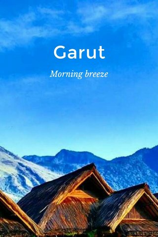 Garut Morning breeze