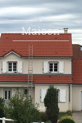 Maison Toiture